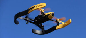 Parrot 3D打印无人机
